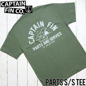 [クリックポスト対応] CAPTAIN FIN キャプテンフィン PARTS S/S TEE 半袖Tシャツ CT184013