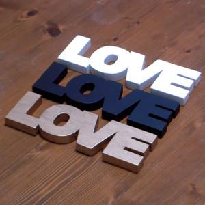 LOVE <H72mm  白[オフホワイト]/黒>