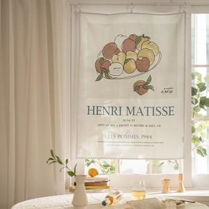 henri matisse apple fabric poster / マティス ファブリックポスター