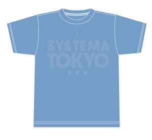SYSTEMA TOKYO Ladies' T-shirts Light blue(水色)