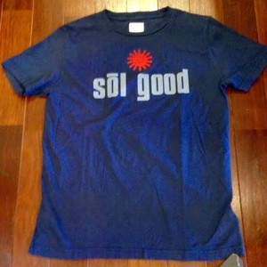 "SUNNY SPORTS/サニースポーツ | 【大特価SALE!!!】 "" Sol Good "" Crew T-Shirts / Navy"