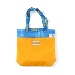 """JUNKPACK REMAKE TOTE BAG """"SMALL""""(YELLOW)"""