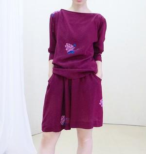 Silk blouse & pants Set Up