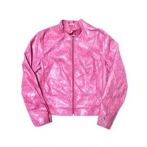 Python jacket pink