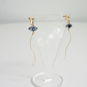 Namida no Ato Pierces / Earrings -ancient blue-