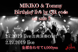 ☆DVD版☆Tommy and MIKIKO birthday LIVE (古典O.Aライブ付)