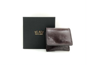 【RE.ACT】Coin Purse (burgundy)
