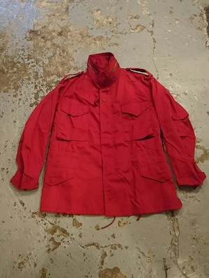 "80s ""M-65 JACKET RED COLOR"" N.O.S"
