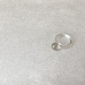 clear ball ring