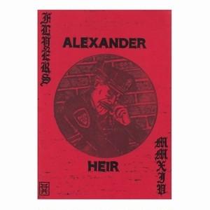 ALEXANDER HEIR - flyers 2014 ZINE