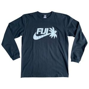 【YBC】FIJI 2019 Long T-Shirt Black × White