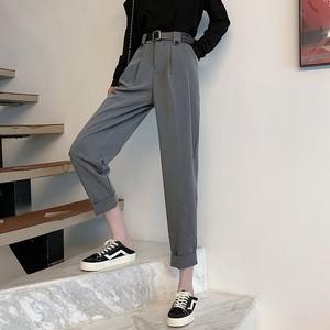 ベルト付きカジュアルパンツ【belt casual pants】