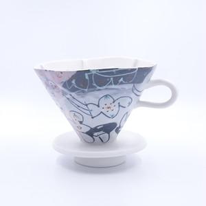 【企画展】色絵ドリッパー【浜坂尚子】