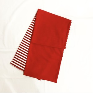 MIX FLEECE MUFFLER(RED)