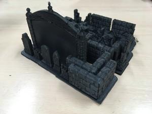 ファンタジーテレインセットB(3Dプリント式)