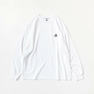 TACOMA FUJI LOGO  embroidery ver. L/S Tシャツ WHITE