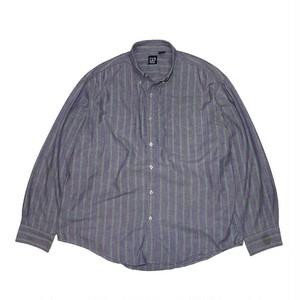 """GAP"" Striped L/S Shirts (Made in USA)"
