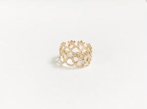 Yularice Lace ring Edging 7 K10gold