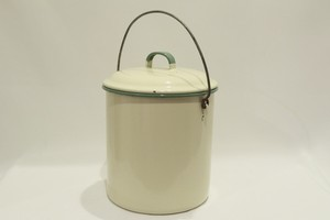 USED KOCKM Enamel pot made in Sweden 01069