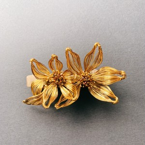 Gold Wire Bouquet ヘッドピース