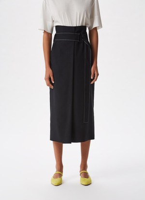 STRAIGHT WRAPPING SKIRT
