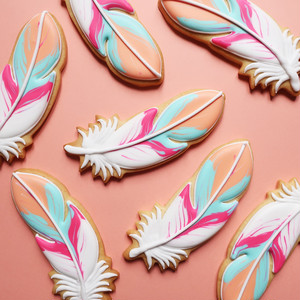 ICING COOKIE(Feather no,2)