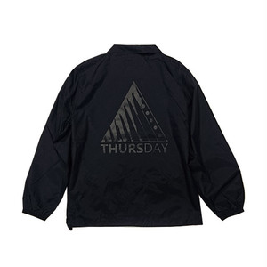 THURSDAY - TITANIUM COACH JACKET (Black)