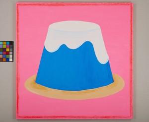 ベッキー 原画作品(1点もの)作品No.100『富士山プリン』