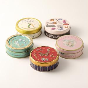 デザイン缶コレクション(丸缶5種類)(冷蔵発送4~9月)