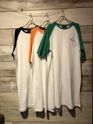 ラグランTシャツ★ワンピ