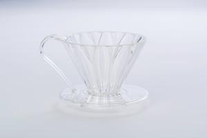 樹脂製円すいフラワードリッパー cup1 1杯用 メジャースプーン付き