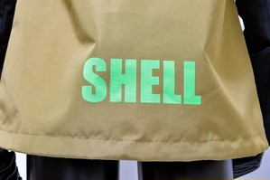 『SHELL』PARKA #01 DESERT BROWN/BLACK