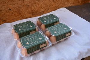 純国産鶏もみじ  平飼いたまご24個(6個×4pk)  送料無料