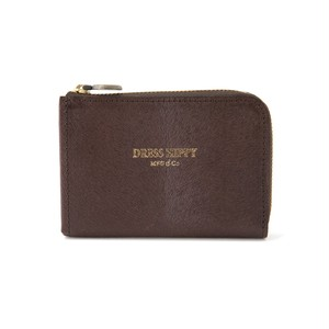 DRESS HIPPY(ドレスヒッピー) / MINK COMPACT WALLET (BROWN)