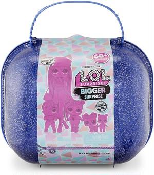送料無料 L.O.L. Surprise! Winter Disco Bigger Surprise includes O.M.G. Fashion Doll