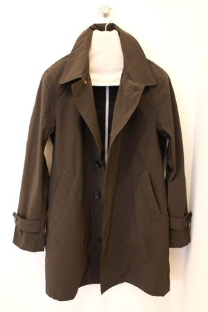 FOB FACTORY Soutien Collar Coat Brown