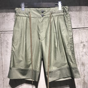 【DIET BUTCHER SLIM SKIN】 Drawstring ribbed shorts