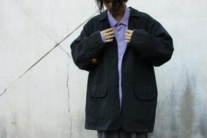 Denim Open Front Coat
