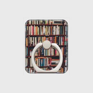 【受注生産】 スマホリング*book-shelves*シルバー