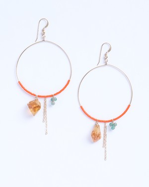 Burano / Citrine w Orange