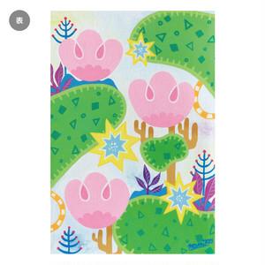 ポストカード「ももちゃんのお庭」
