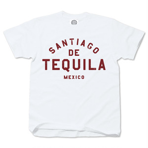 SANTIAGO DE TEQUILA whitexred