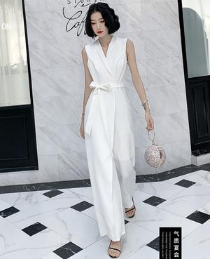 ホワイト パンツ マット パーティードレス TM0185