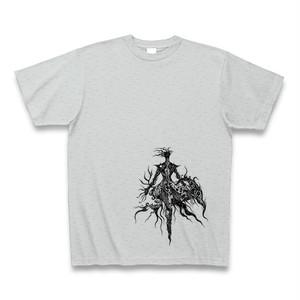 AlphactオリジナルTシャツ2 シルバーグレー