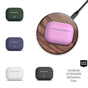 Apple AirPodsPro エアーポッズプロ ケース MWP22J/A シリコン カバー シンプル CaseStudi ケーススタディ ワイヤレスイヤホン