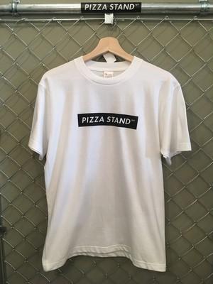 PIZZA STAND NY BOXロゴTシャツ