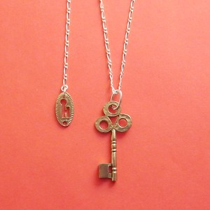 【H】Initial Key-Necklace