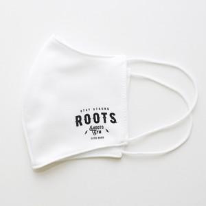rootsマスク(白)