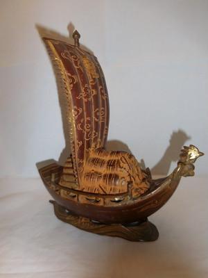 鉄製 宝舟 Iron treasure ship