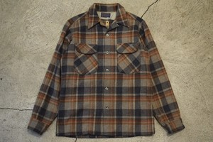 USED 70s Pendleton Board Shirt -Small S0754